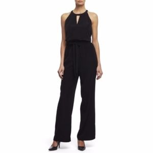 NWT Kenneth Cole Contessa Jumpsuit in Black